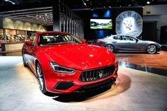 2018 Maserati Ghibli Lands With Updated Looks More power :  The updated 2018 Maserati Ghibli has made its debut at the 2017 Frankfurt Motor Show.  For 2018 the Ghibli mid-size sedan has received a minor exterior update along with a revised trim structure. The updated Ghibli will benefit from restyled front and rear bumpers which have improved the cars aerodynamic efficiency by 7 percent along with a new grille and adaptive full LED headlights with glare free matrix high-beams.  The Ghibli…