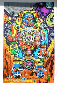 Jack Kirby art WHAT THE...????