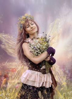 Summer Fairy by Euselia on DeviantArt