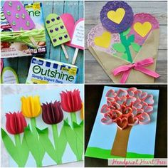 10 Adorable Mother's Day Card Ideas Kids Can Make | I Heart Crafty Things