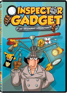 Inspector Gadget: The Go Go Gadget Collection: Go Go Gadget Collection: Movies & TV Classic Cartoon Characters, Cartoon Tv, Classic Cartoons, Vintage Cartoon, Cartoon Shows, Old School Cartoons, 90s Cartoons, 90s Childhood, My Childhood Memories