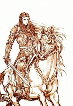elvenkingtranduil:  Celebrimbor was the son of Curufin, fifth son of Fëanor (son of Finwë and his first wife Míriel) and Nerdanel, and the only known grandchild of Fëanor. It is not known where or when Celebrimbor was born. Since Celebrimbor was not mentioned as being present during the Oath of Fëanor, and is first mentioned as living in Nargothrond, it is likely that he was born after the exile of the Noldor, in Middle-earth.