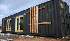 A tiny home owner and California-based designer teamed up to design and build this stylish 40-foot long container home | Inhabitat - Green Design, Innovation, Architecture, Green Building