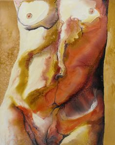 """Saatchi Online Artist: Lia Melia; Mixed Media """"Hers"""""""