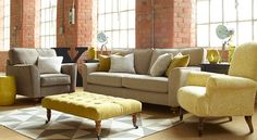 The Carnival collection from Ashley Manor Upholstery - now available online from Get Furnished.