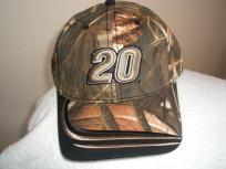 Tony Stewart #20 Camo Ball cap, new w/tags