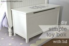 DIY Toy Storage • Lots of Ideas & Tutorials! Including this simple modern…