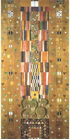 The Athenaeum - Design for the Stocletfries. Date unknown (Gustav Klimt - )