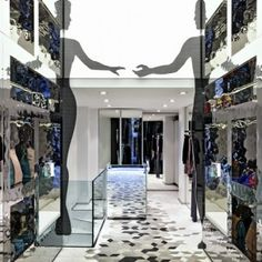 Who*s Who boutique  by Fabio Novembre  Located on Milan's Corso Venezia