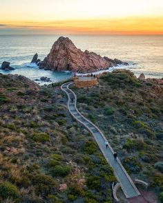 Sugarloaf Rock Sunset – World Tour With Van New Adventure Quotes, Adventure Time, Adventure Is Out There, Adventure Travel, Adventure Tattoo, Adventure Couple, Western Australia, Australia Travel, Queensland Australia