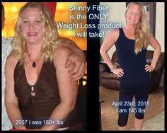 I've lost 35 lbs using Skinny Fiber! I have not changed my diet and I don't exercise as much as I should. I no longer have migraines or IBS and I sleep better at night!  Order your Skinny Fiber here www.winwithsf.info and get the latest SPECIALS with a 90 Day Money Back Guarantee!