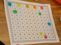 More Math! find the number that... with dot markers