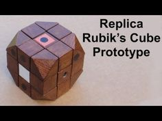 Tony Fisher's Replica Rubik's Cube Prototype (with history intro)