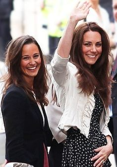 Catherine, Duchess of Cambridge, and Pippa Middleton. Duchess Kate and Pippa Middleton. Pippa Middleton, Princesse Kate Middleton, Middleton Family, Duke And Duchess, Duchess Of Cambridge, Duchesse Kate, Prince William Et Kate, Celebrity Siblings, Kate And Pippa