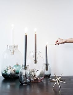 DIY Candle Vases Budget Friendly Project @monsterscircus
