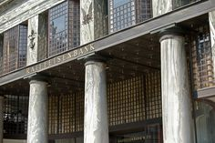Adolf Loos, Looshaus (formerly Goldman & Salatsch tailoring), Vienna, Windows And Doors, Vienna, Modern Architecture, Canopy, Facade, Art Nouveau, History, Buildings, Designers