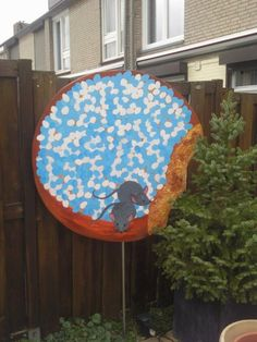 Beschuit met muisjes (jongensversie)  ook te huur bij www.deco4kidsandmore.nl