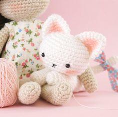 Amigurumi crochet cat PATTERN ONLY English by BubblesAndBongo