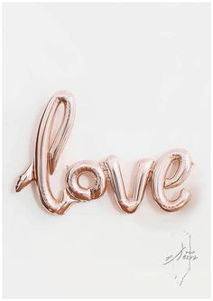 Beautiful love balloon to accent any wedding reception, bridal shower, anniversary party, etc! This listing includes: 30 love balloon in rose gold. (gold and red also available in our other listings).