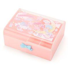 【2016.06.08】★Plastic Jeweley Box ★2,160円(税込), 約19x13.5x6cm ★ #SanrioOriginal ★ #LittleTwinStars