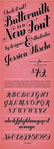 love of typography. : jessica hische