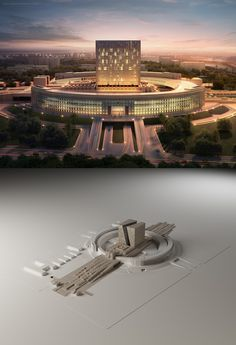 Pin by CAPsarl on Building of Council of Ministers | Pinterest