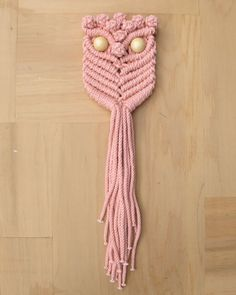 the six week boutique — macrame owl
