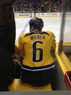 Shea Weber !  Our Captain !