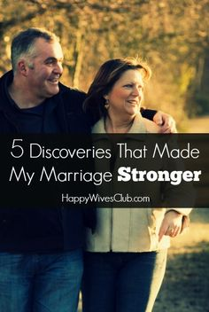 5 Discoveries That Made My Marriage Stronger