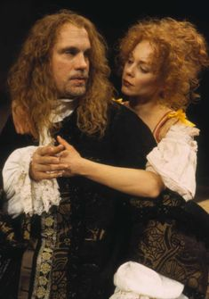 John Malkovich and Mariann Mayberry in Steppenwolf's 1996 production of The Libertine by Stephen Jeffreys, directed by Terry Johnson Jack Unterweger, Joan Allen, Sam Shepard, Dangerous Liaisons, Gary Sinise, Gentlemens Guide, John Malkovich, The Libertines, Tennessee Williams