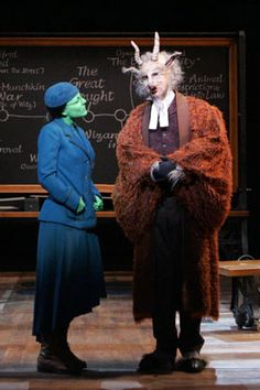 currently listening to my 'Wicked' cd, 'No Good Deed' is playing and i love it! wicked is probably my favourite musical which is a lit. Broadway Costumes, Wicked Costumes, Animals Starting With A, Wicked Musical Quotes, Broadway Wicked, Defying Gravity, Tortured Soul, Holiday Costumes, Broken Leg