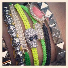 Inland Fashion Skull Bracelet www.inlandfashion.com