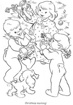 Coloring Book~Little Miss Christmas and Santa - Bonnie Jones - Picasa Web Albums