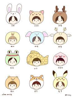 Fansign focus on music artist look like cute minions Kpop Drawings, Cute Drawings, Wallpaper Quotes, Iphone Wallpaper, K Store, Free Anime, Cute Doodles, Kpop Fanart, Cute Illustration