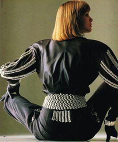 Elle USA April 1986 Sonia Klein Gilles Bensimon