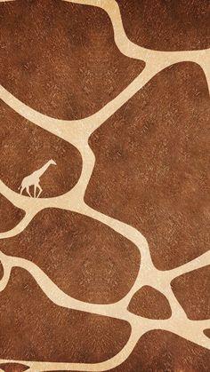 Animal Print Wallpaper, Wallpaper Iphone Cute, Cute Wallpapers, Wallpaper Backgrounds, Giraffe Decor, Giraffe Art, Cute Giraffe, Brown Aesthetic, Aesthetic Collage