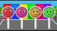 Learn Colors with Soft Cake Pop for Children - Colours for Kids to Learn Finger Family Songs Nursery Rhymes For Children Kids Songs TV Finger Family Collecti. Sister Finger, Mommy Finger, Finger Family Song, Baby Finger, Family Songs, Kids Nursery Rhymes, Free Youtube, Kids Tv, Learning Colors