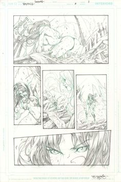 Vampirella Quarterly 3 page 11 Stephen Segovia  Comic Art