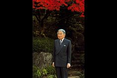 Emperor Akihito at the Imperial Palace in Tokyo, December 9, 2015