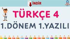 4. Sınıf Türkçe 1. Dönem 1. Yazılı Company Logo, Logos, Youtube, Logo, Youtubers, Youtube Movies