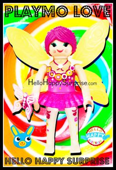 Playmobil Figures Series 8: Pink Fairy ♥ https://www.youtube.com/c/hellohappysurprise