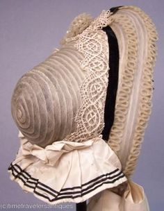 I love the black and white color scheme along with the different trims like the lace. All the different patterns when put together create something I think looks very interesting. Elizabethan