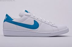 Nike - Tennis Classic.  I had the navy blue stripe Nike's and they were boys!  Girls weren't even made yet....