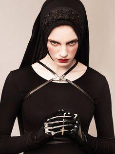 GLASSbook SNEAK PEEK: New editorial by Thomas Sing for GLASSbook! #gothic princess