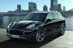Porsche Cayenne Turbo/ Diesel - next family automobile. Porsche Suv, Black Porsche, New Porsche, Porsche Models, Porsche Panamera, Luxury Car Hire, Luxury Cars, My Dream Car, Dream Cars