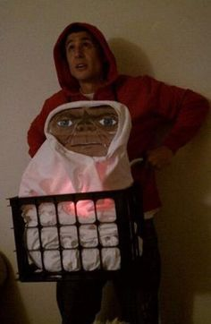 E.T. Costume | Halloween Costume Ideas