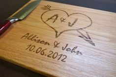 Personalized Cutting Board Custom Engraved by TaylorCraftsEngraved, $39.00