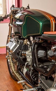 Tricana Motocycles Guzzi V65