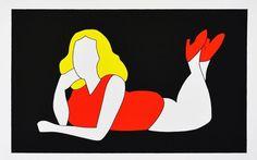 LODOLA MARCO - DIVA  - Serigrafia a colori FORMATO FOGLIO 65 x 100 cm