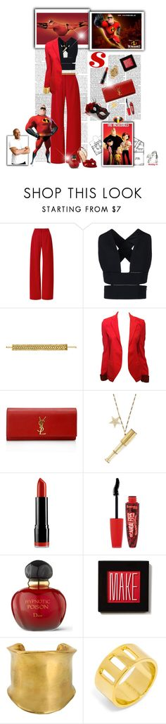 """""""Pixar's The Incredibles #mrincredible #bobparr #vindiesel (#447)"""" by nobility99 ❤ liked on Polyvore featuring Mother of Pearl, STELLA McCARTNEY, Disney, Yves Saint Laurent, Ornamental Things, NYX, Rimmel, Christian Dior, Make and Emilio Pucci"""